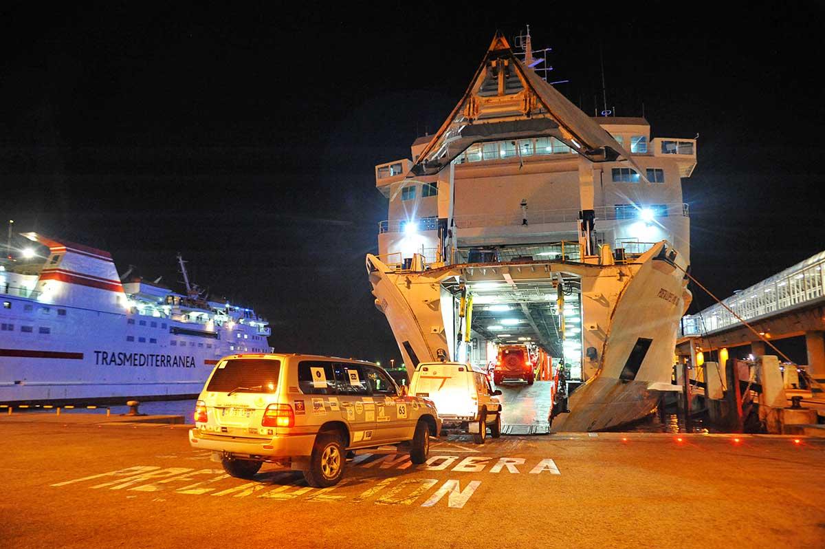 Passage bateau   Trophée Roses des Sables 2021